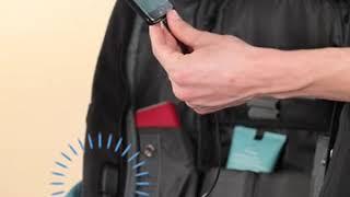 Vasco 'SMART' laptop backpack