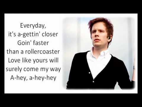 Patrick Stump - Everyday (Tribute to Buddy Holly) with lyrics