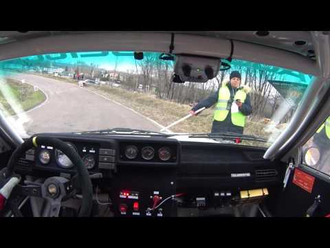 Rally Master Show 2017 Moscow shakedown