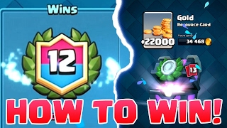 12 WINS GRAND DRAFT CHALLENGE | Clash Royale | How to, Tips, and Tricks