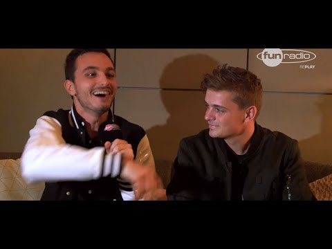 Interview de Martin Garrix à Amsterdam