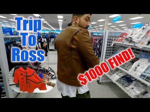 Trip to Ross 19! We found a $1000 coach Jacket! Ross Finds 2017!