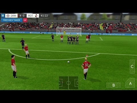 Dream League Soccer 2016 Android Gameplay DroidCheatGaming