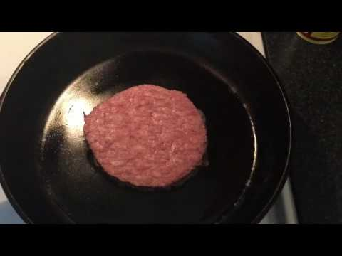 Cooking a Dean Burger (inspired by Supernatural)