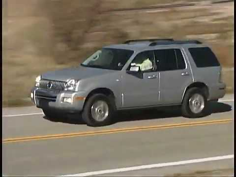 2007 Mercury Mountaineer Sport Truck Connection Archive Road Tests