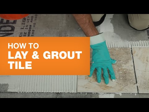 Tile Installation: How To Lay & Grout Tile