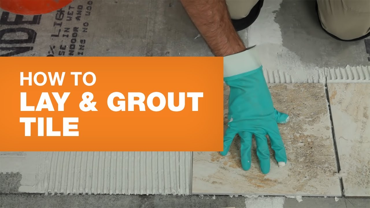 How to Install Ceramic or Porcelain Tile - YouTube