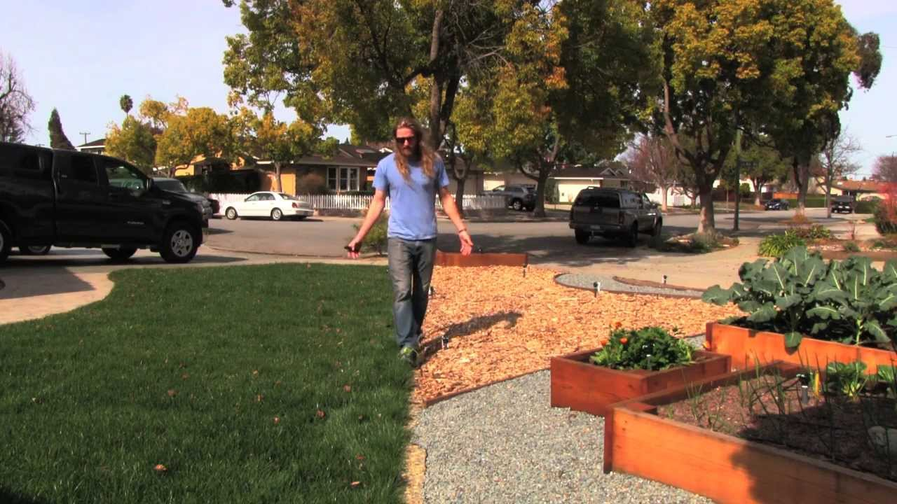 Traditional Lawn vs Attractive Front Yard Vegetable Garden YouTube