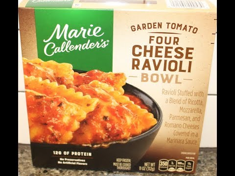 Marie Callender's Garden Tomato Four Cheese Ravioli Bowl Review