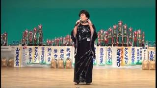 第9回浜名湖歌謡グランプリ大会 シニア部門準優勝者