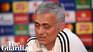 'I don't like this press conference': Mourinho unhappy with Pogba and Madrid questions