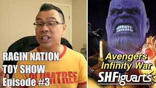 Avengers Assemble in SH Figuarts Line - [RAGIN NATION TOY SHOW #3]