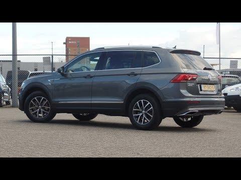 "Volkswagen NEW Tiguan Allspace 2018 Indium Grey Metallic Comfortline 17 inch ""Tulsa"" walk around"