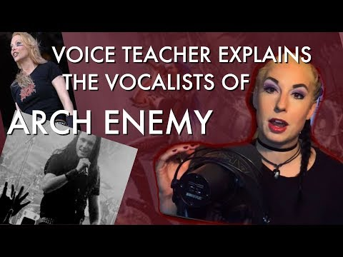 The 3 Arch Enemy Vocalists! Vocal Coach Mary Z Reacts & Explains`