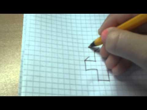 Как нарисовать объемный крест