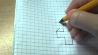 Как нарисовать объемный крест(Очень легко., 2014-08-25T11:45:32.000Z)
