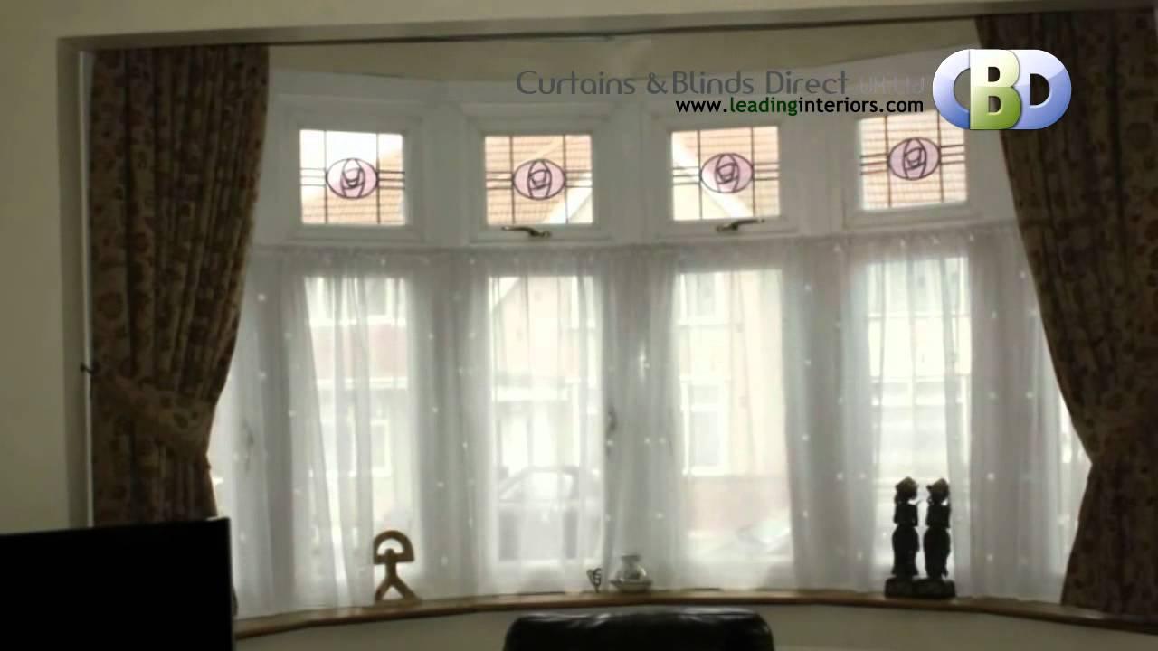 Net Curtain Rods For Upvc Bay Windows