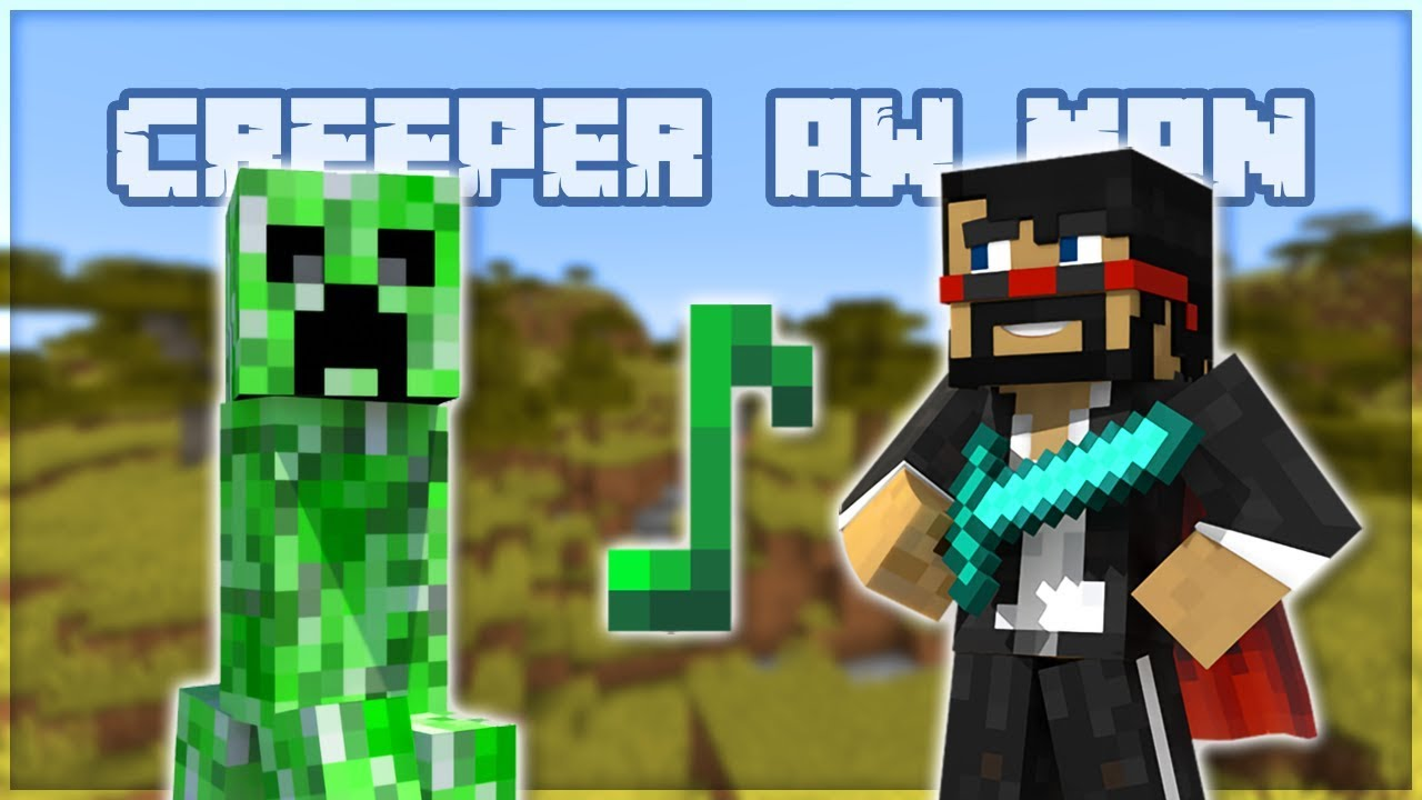 Revenge but with Minecraft Creeper Noises