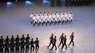 中國人民解放軍駐香港部隊三軍儀仗隊 槍操