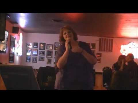 Kim @ The Driftwood Royal Rumble Karaoke Contest