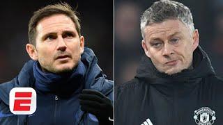 Frank Lampard And Ole Gunnar Solskjaer Aren't In The Same Conversation - Craig Burley | Espn Fc