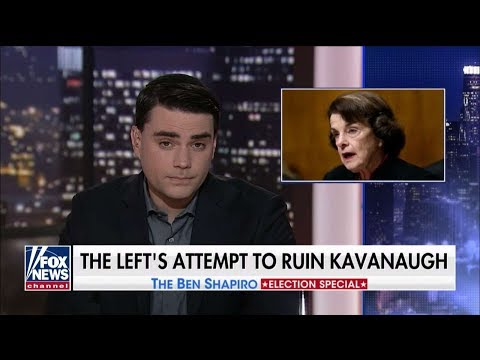 'Insane, Disgusting': Ben Shapiro Takes on Left's Kavanaugh 'Witch Hunt'