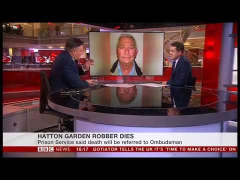 Hatton Garden Heist Gang-leader dies