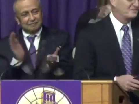 Mark Nook, 11th president of UNI, is announced