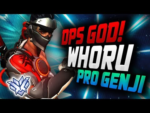 WHORU is a Genji God - KOREAN DPS! He's Insane! [ OVERWATCH SEASON 12 TOP 500 ] thumbnail