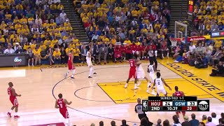 2nd Quarter, One Box Video: Golden State Warriors vs. Houston Rockets