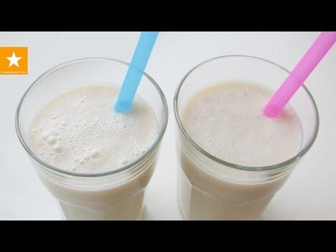 Рецепт Молочный коктейль с бананом - отсекаем лишнее )
