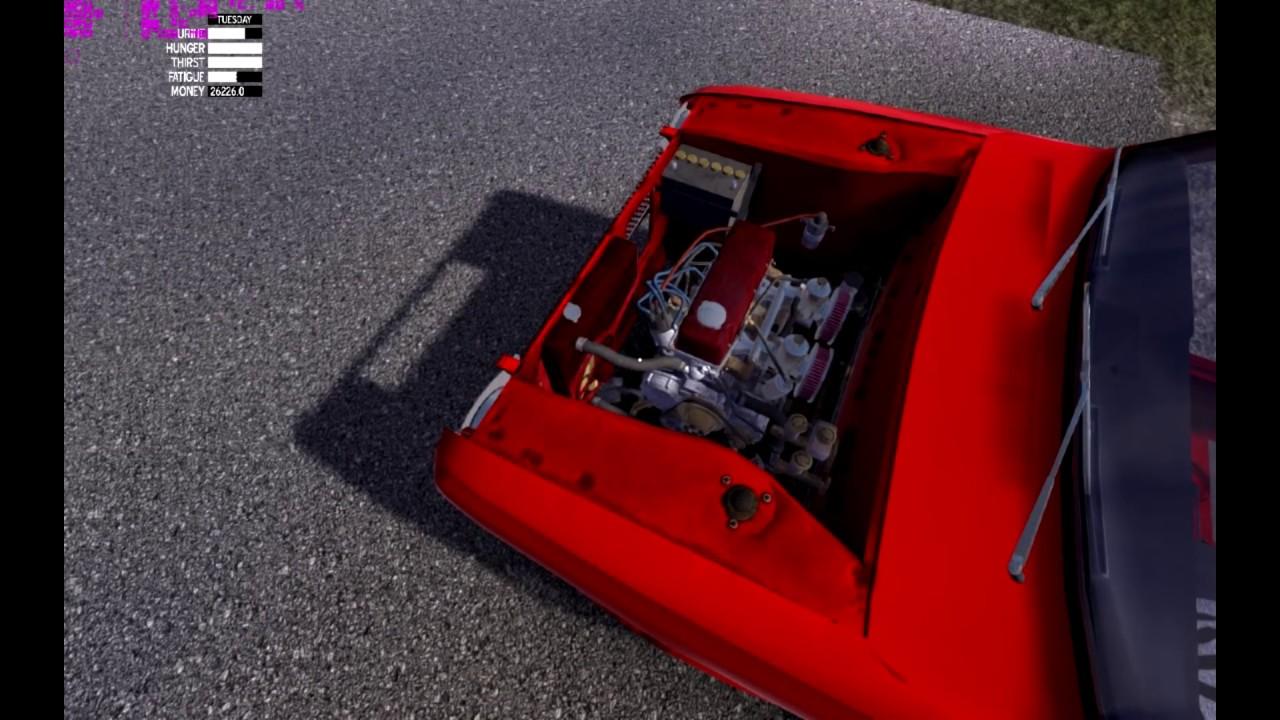 how to get engine on hoist my summer car