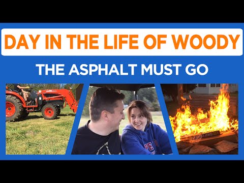 Daily Vlogs? - Asphalt Removal and Something Stinks