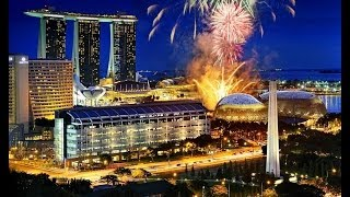 #45. Сингапур (Сингапур) (очень красиво)(Самые красивые и большие города мира. Лучшие достопримечательности крупнейших мегаполисов. Великолепные..., 2014-06-30T23:22:21.000Z)