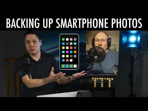 How to Backup iPhone and Smartphone Photos