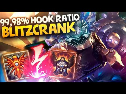 MAGIC BLITZCRANK | 99,98% HOOK RATIO - Diamante III EUW