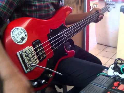 Zoom b1.on + ESP 4h-s bass sustainiac test