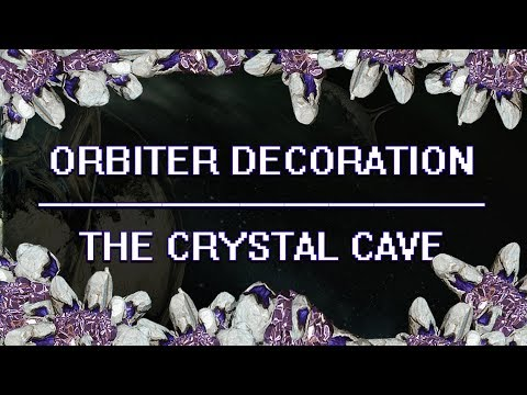 Warframe - Orbiter Decoration - The Crystal Cave