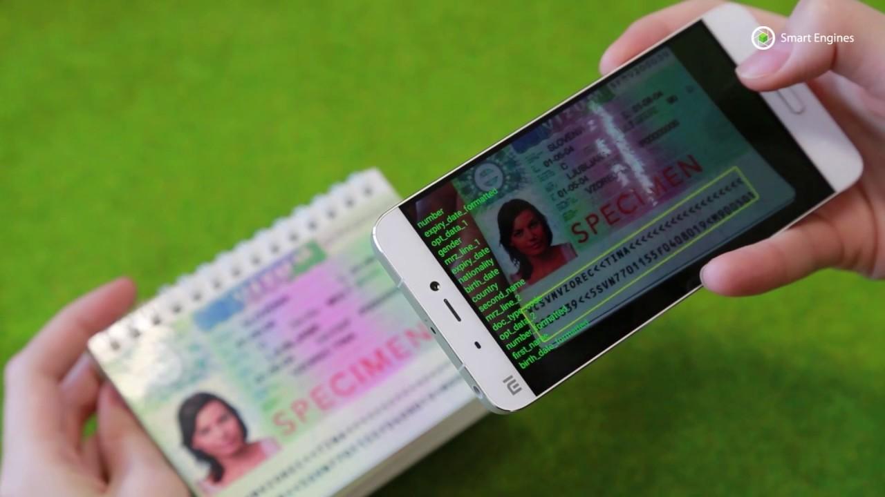 Smart MRZReader - Scan MRZ and ID in mobile app