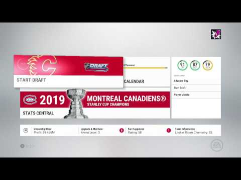 NHL 17 Calgary Flames Franchise Mode 10 | Offseason