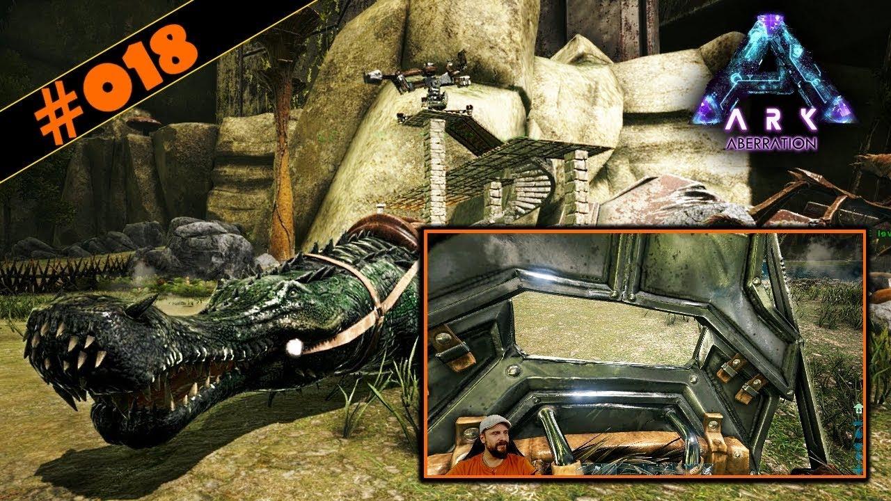 Kletterausrüstung Conan Exiles : Ark aberration deutsch #018 sarco als verstärkung & unser
