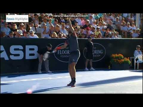 AUCKLAND 2018 - SF - Robin Haase vs Roberto Bautista Agut - Full Highlights HD