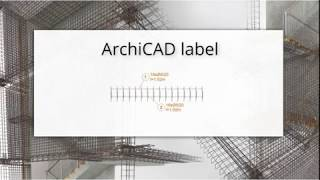 EPTAR REINFORCEMENT | How to create a ArchiCAD label in Reinforcement