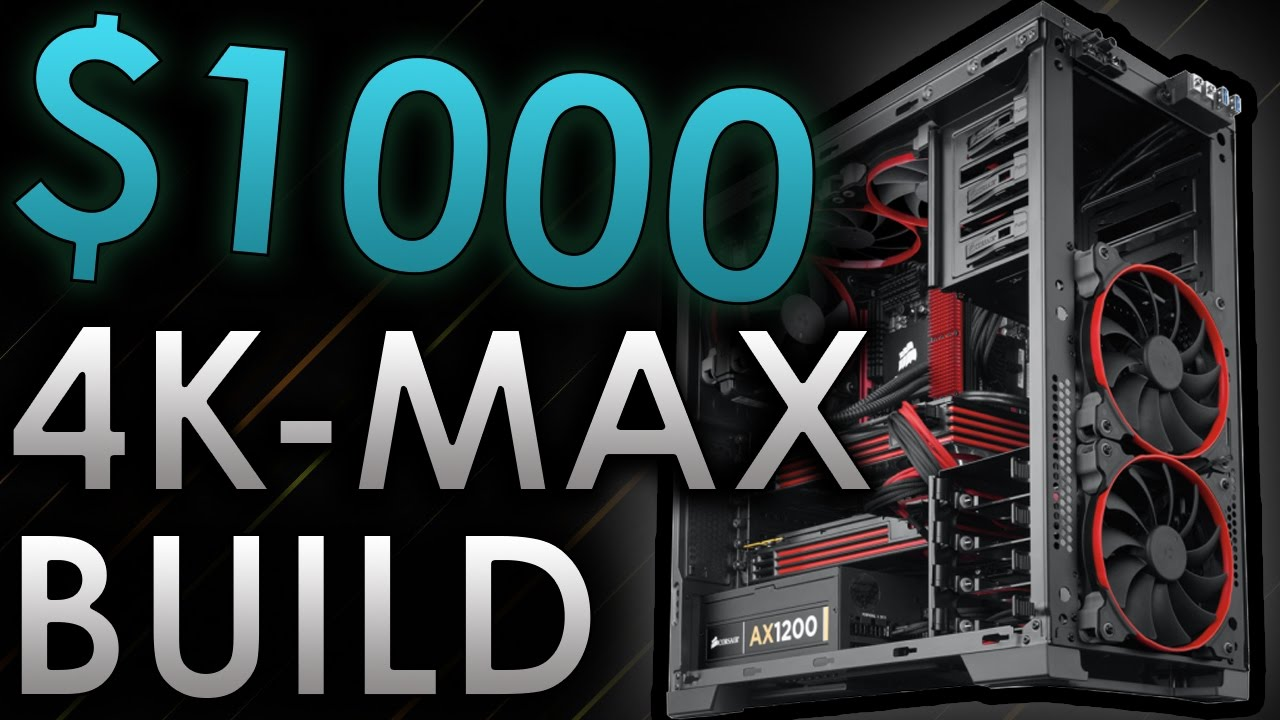 1000 Gaming Pc Build 4k Ultrawide Max Ultra 60fps Settings