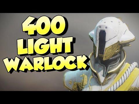 400 Light Warlock! Full Legendary Solstice of Heroes Armor Set [Destiny 2]