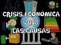 La crisis de 2008: Causas - ¿Cómo Sucedió?