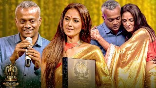 GVM's LIVE Romantic Dialogue For Simran & Her Ultimate Blushing Reaction For It | Galatta WOW Awards