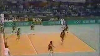 PERU VS USSR SEOUL 88 NBC TV PART 2