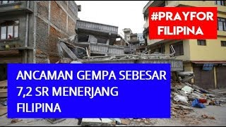 "Detik"" Video Amatir Filipina Di Guncang Gempa 7,1sr, Gempa Bumi Filipina Da"