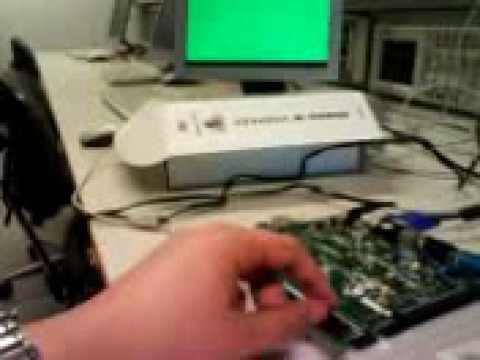 VGA controller with Xilinx Spartan-3E